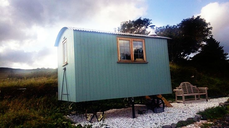 Shepherd's Huts in Isle of Skye