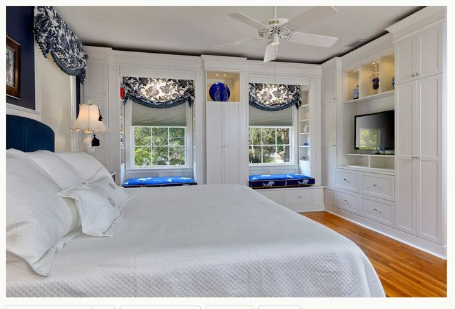 Bedrooms Pinterest Traditional Window Seats And Blue And White