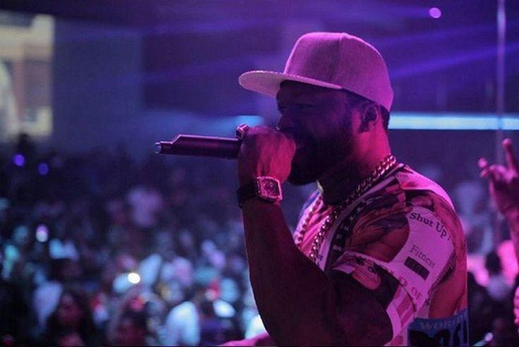 50 Cent: Complètement fan d'Aurélie Preston !