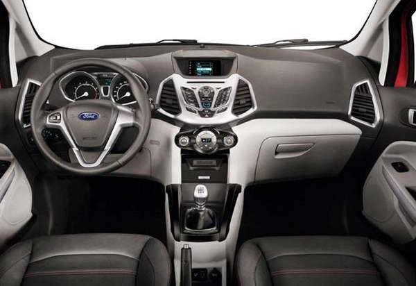 обзор фото Ford EcoSport 2016