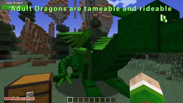 Realm Of The Dragons Mod 1 12 2 1 11 2 Dragon Mounts Remake