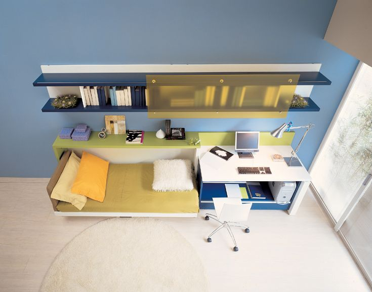 Teen Bedroom Design : A Wonderful Ideas For Teen Rooms With Small Space | Teen Room Designs, Beds And Cots
