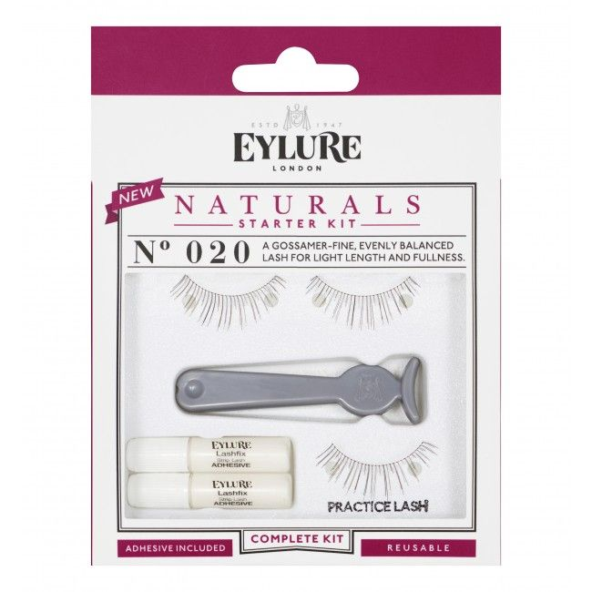 Eylure Naturals # 020 Nepwimpers Starter Kit