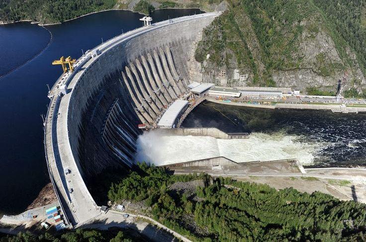 Sayano–Shushenskaya-Dam-2  Russia