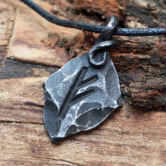 Hey, I found this really awesome Etsy listing at https://www.etsy.com/listing/191610857/forged-iron-fehu-feoh-fe-rune-viking