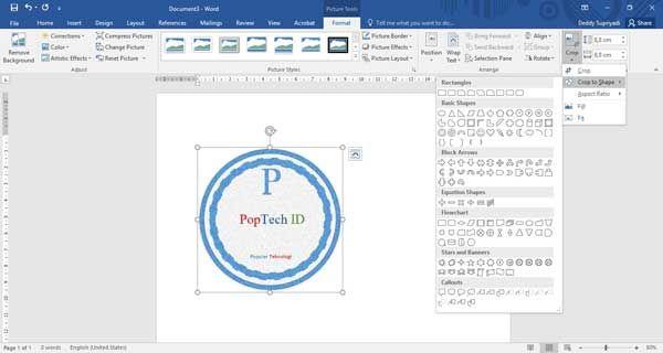 Cara Membuat Tanda Air Watermark Di Microsoft Word Membaca