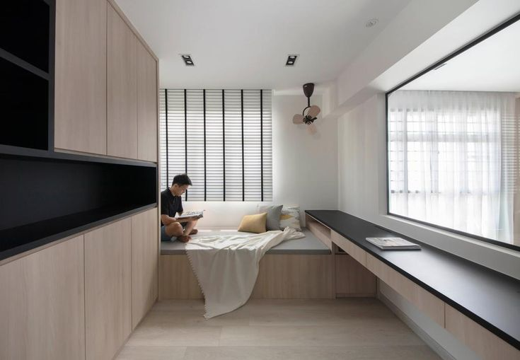 Check Out This Minimalistic Style Hdb Bedroom And Other Similar Styles On Qanvast Room Design Bedroom Interior Design Bedroom Interior Design Singapore