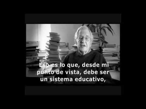 Rol Docente . Objetivo de la Educación (Chomsky) .TP1
