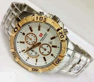 Jam Tangan Swiss Army 1135 Silver Gold / RP 8000,000 | BB : 21F3BA2F | SMS :083878312537