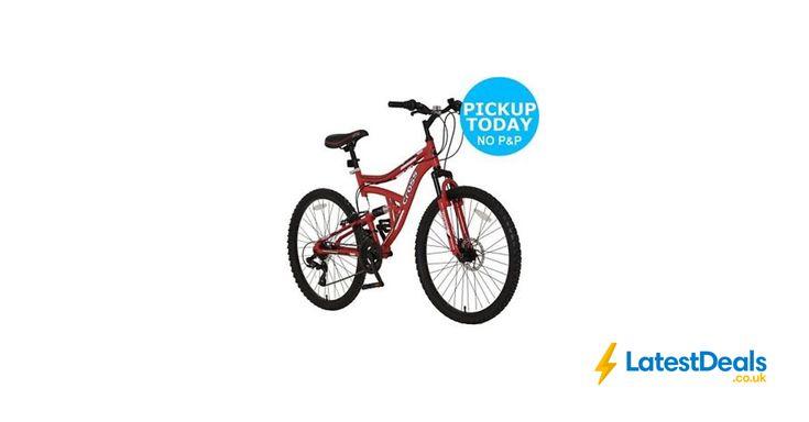 Cross DXT300 Dual Suspension 26 Inch Bike at Argos/ebay, £94.99