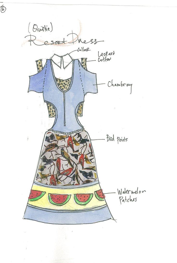 quirky denim dress in mind