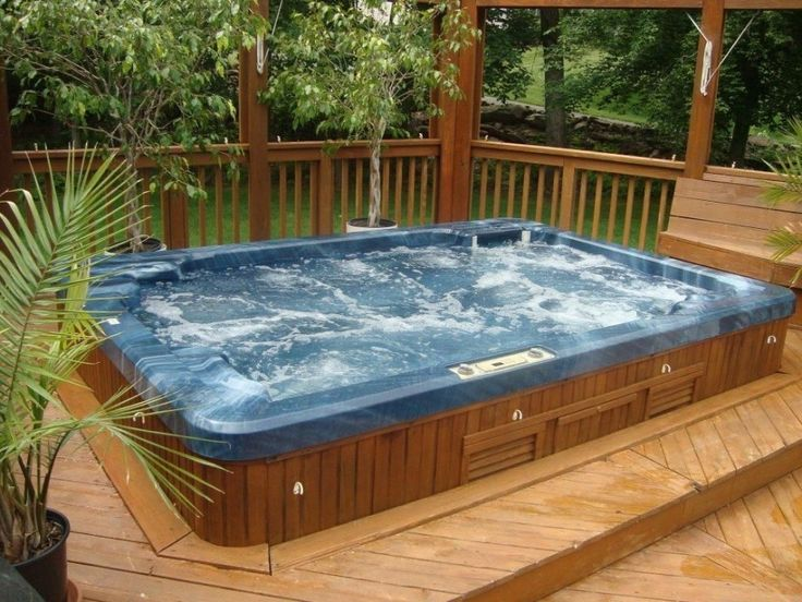 pool view of hot tub for backyard jacuzzi ideas with fence modern backyard jacuzzi design ideas