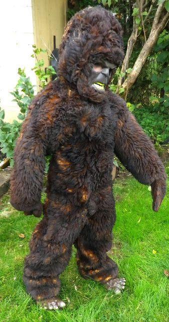 DIY Bigfoot/Sasquatch Halloween Costume. This is so great hahaha