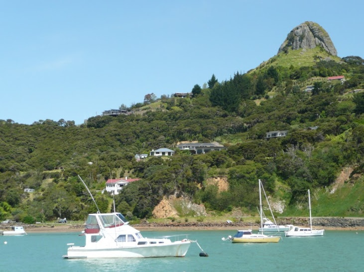 Whangaroa Harbour Northland NZ  St Pauls Rock