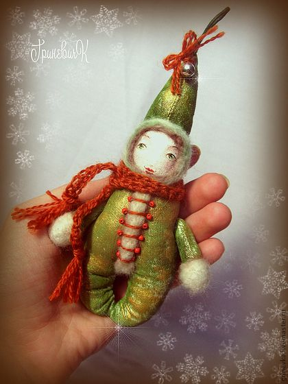 Елочный житель - Новый Год,новогодний подарок,новогодний сувенир,елочные игрушки