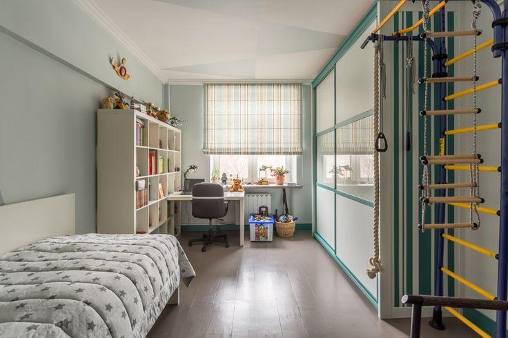 Квартира с яркими акцентами длябольшой семьи. Изображение № 5.