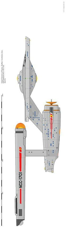 U.S.S. Enterprise (no bloody A, B, C, or D!)