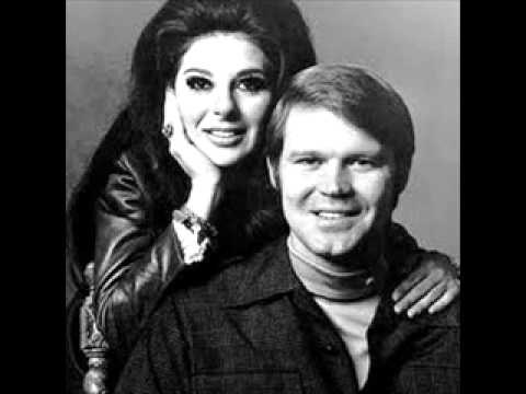 """Glen Campbell & Bobbie Gentry - """"All I Have To Is Dream"""".Way before my time."""