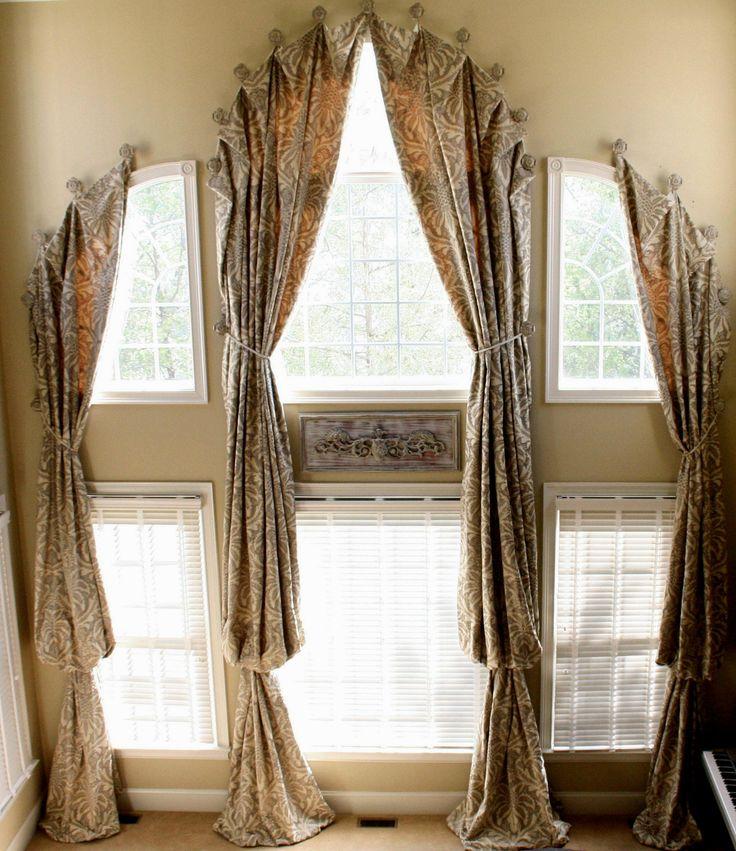 Long Window Curtain Ideas - http://behomedesign.xyz/long-window-curtain-ideas/