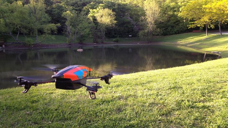 Review of the Parrot AR Drone 2.0