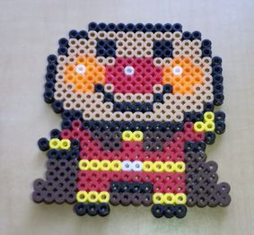 Anpanman perler beads