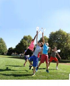 Djubi slingball kinderen buiten spelen buitenspeelgoed balspel