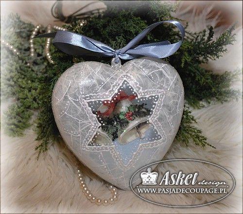 Рождественские украшения - коробка конфет Passion Декупаж мастерской Asket
