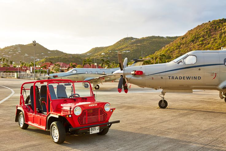 #Moke St Barthes Airport #Caribbean