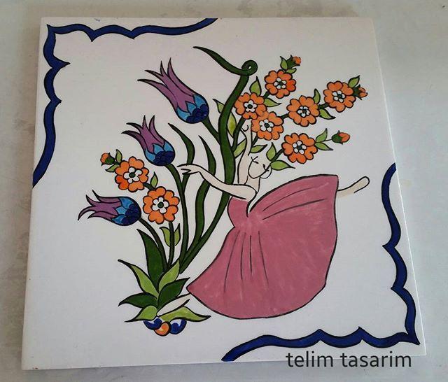 #telimtasarim #ilk#balerin #calismam# fırından #çıktı