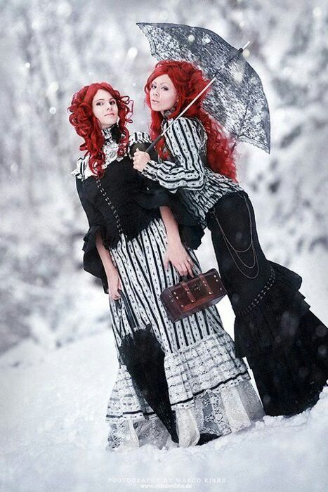 Victorian Steampunk fashion