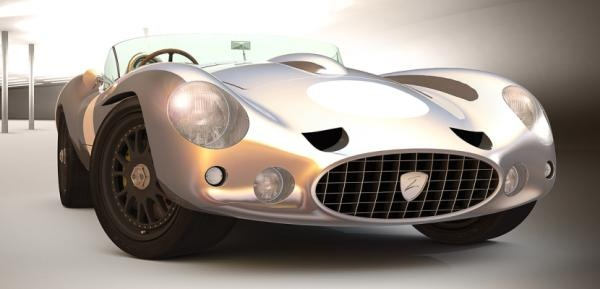 Zetini Haast Barchetta.....crazy name, cool car!