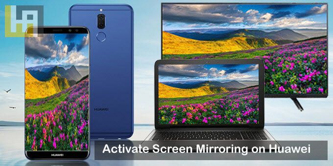Activate Screen Mirroring on Huawei Honor 8X phones | Huawei