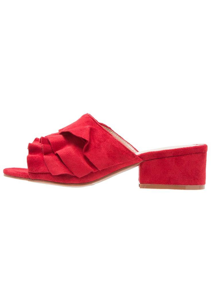 Topshop DARCY Pantolette flach red Schuhe bei Zalando.de >>> http://rstyle.me/~9YZnC