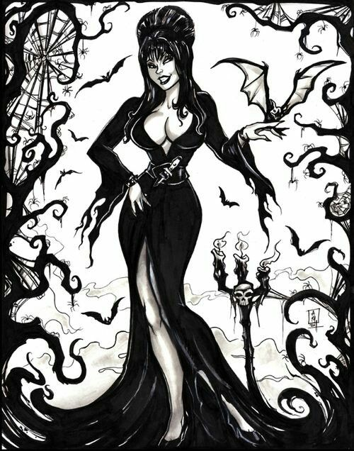 The Mistress of the Dark
