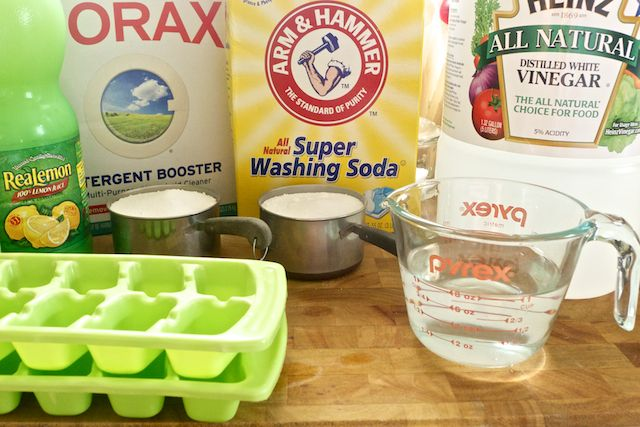 I'm so excited to share this recipe with you!  We have been using homemade dishwasher and clothing detergents for almost two years now.  We have tried various recipes for dishwasher detergents without loving the results, but saving us a lot of money.  We stuck with it mostly because our grocery budget, which is quite small, …