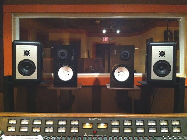 yamaha ns10. barefoot micromain and yamaha ns10 studio speakers. ns10
