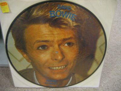 David Bowie Rare Interview Let's Talk Picture Disc LP