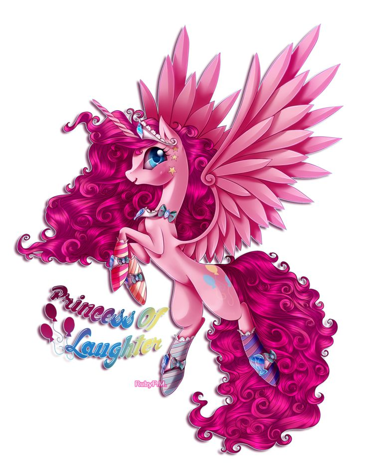Princess Pinkie Pie- Princess of fun, laughter and happiness