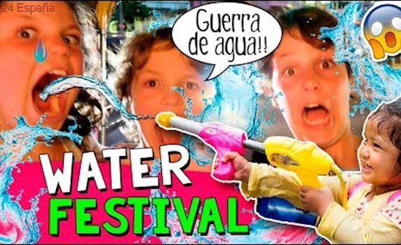 ¡¡WATER Festival 2017!! 🎉 ¡AÑO NUEVO Tailandés en BANGKOK con una GUERRA de AGUA!💧💦+ ¡COMPRAS! 🛍