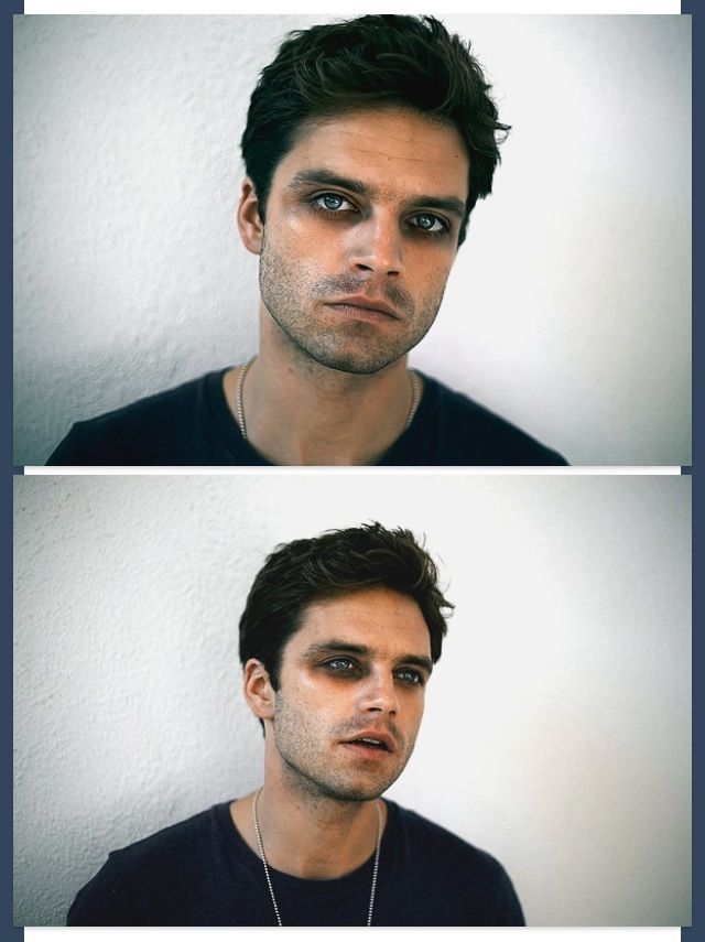 gender aside, makeup can do marvelous things for a person's features. just look at his eyes!