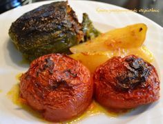 Κλασικά γεμιστά με κιμά στο φούρνο – Κρήτη: Γαστρονομικός Περίπλους
