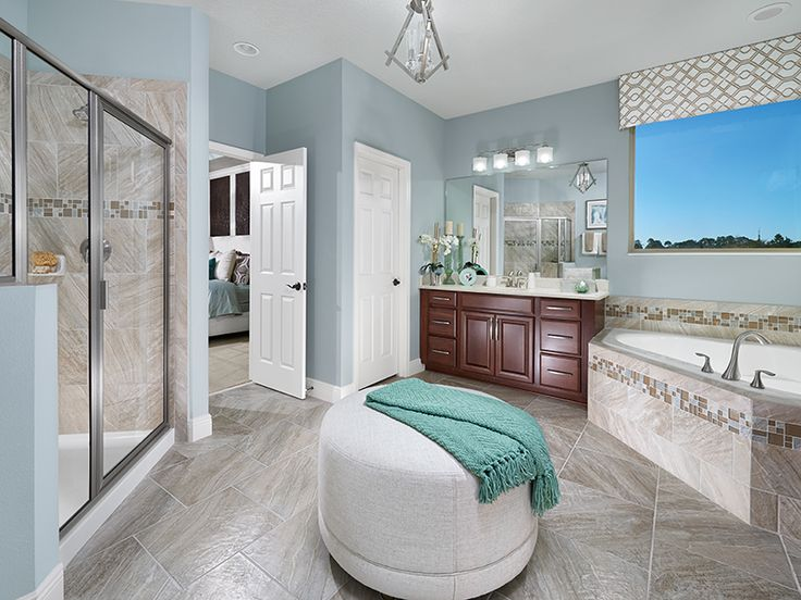 Photo On Relax after a long day in this spa like master bath at Watermark in Orlando