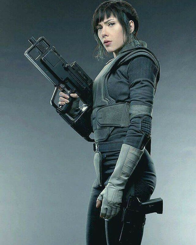 Major Motoko Kusanagi [ Scarlett Johansson ] : Ghost in the Shell 2017