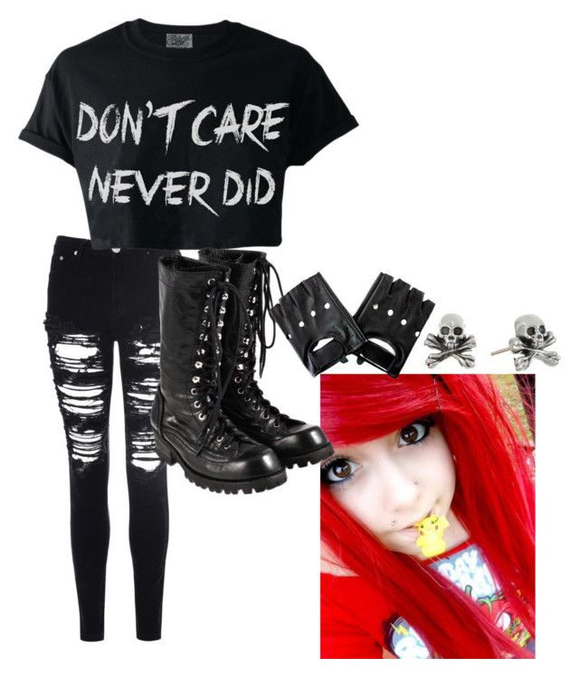 """Emo #2"" by cookycuttur ❤ liked on Polyvore"