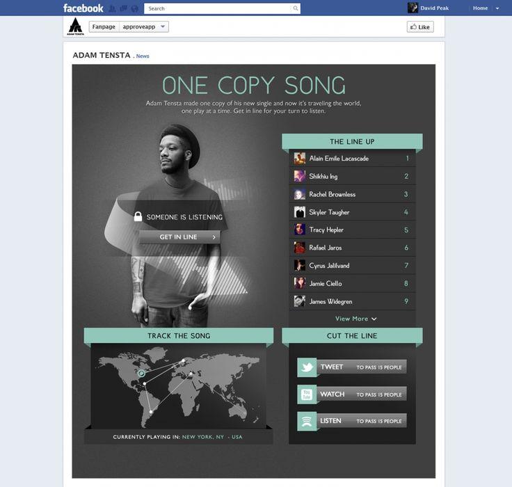 "Tomorrow Awards Fall 2012 Winner! ""One Copy Song"" by R/GA"