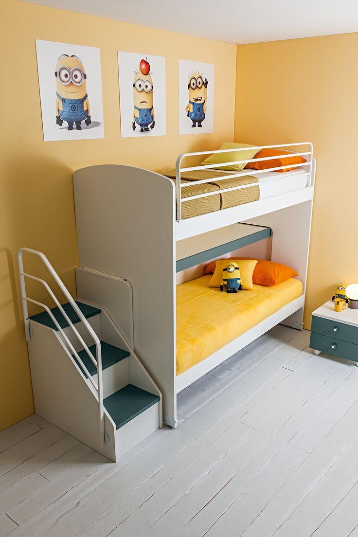 Oltre 25 fantastiche idee su bambini letti a castello su - Letto a castello per bambini ...