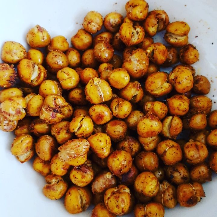 Fit Me Baby- Spicy Roasted Chicpeas