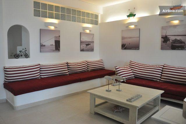 House/Villa with 120m2 garden , close to the beach (Kapsali). 2 rooms , 2 beds, sleeps 4