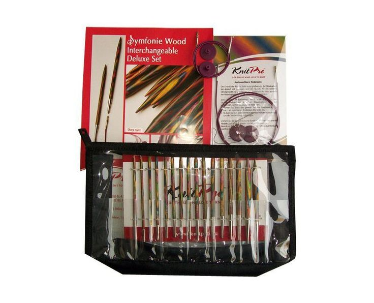 Woolstack - KnitPro Symfonie Wood Interchangeable Needle Deluxe Set, £44.95 (http://www.woolstack.co.uk/knitpro-symfonie-wood-interchangeable-needle-deluxe-set/)