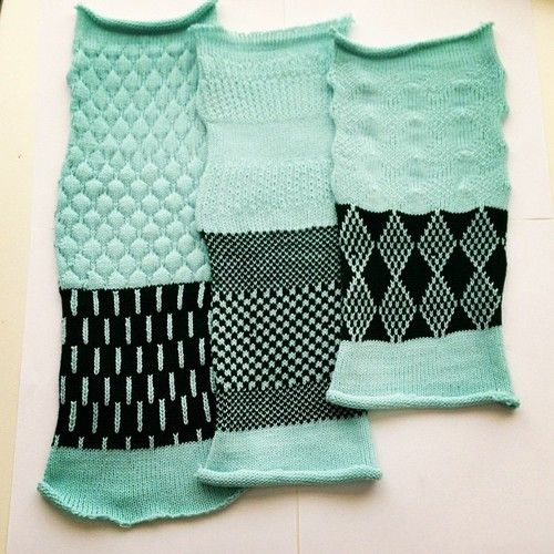 sample swatches #fit #machineknitting